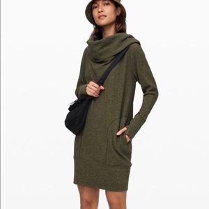 Lululemon Women's Long Sleeve Along the Way Dress